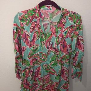 Lilly Pulitzer Floral Top